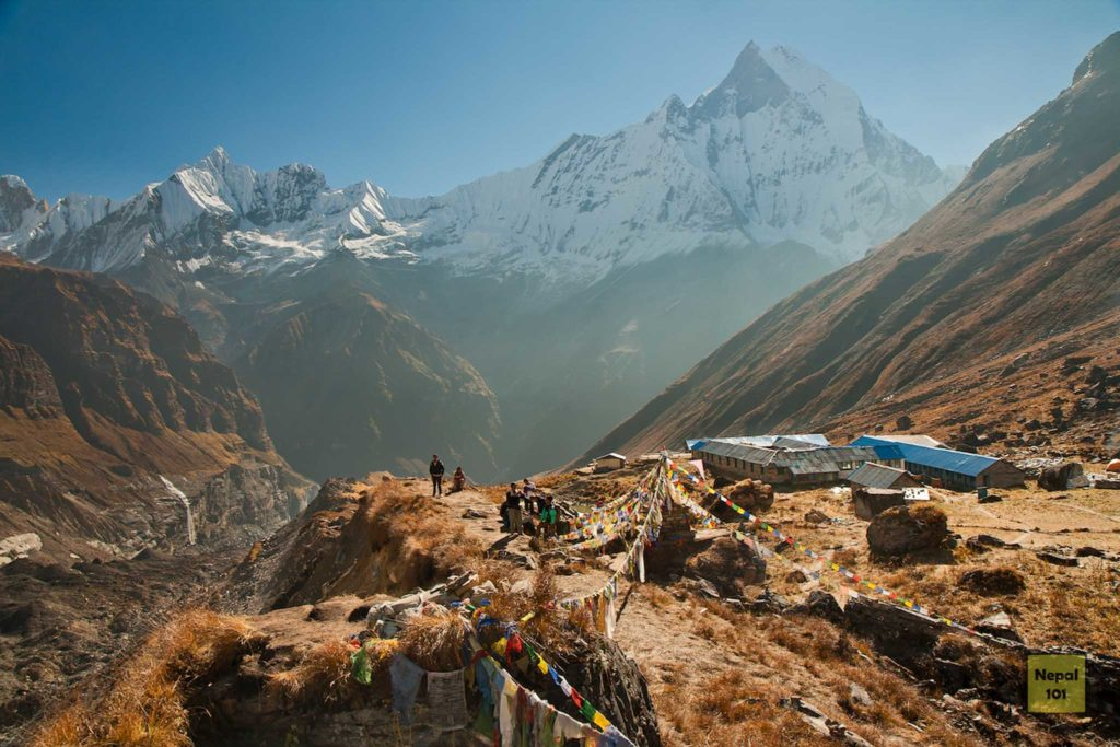 Annapurna Base Camp South View
