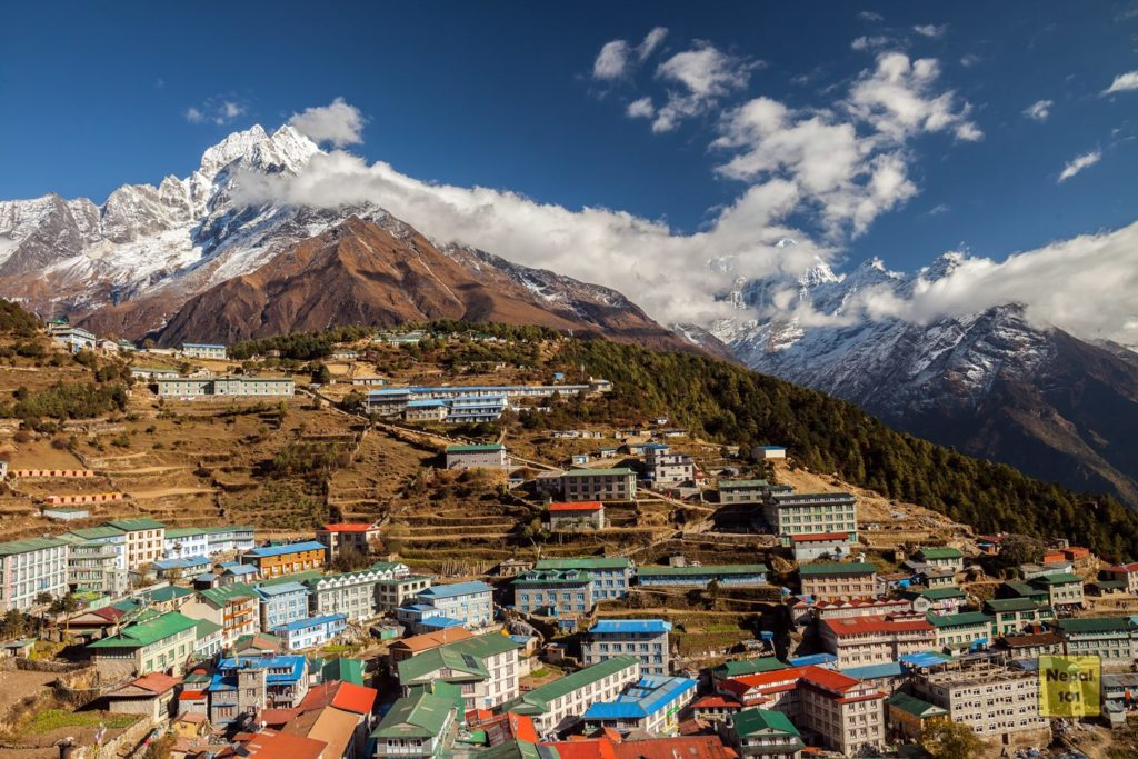 Everest Base Camp Trek Namche Bazar