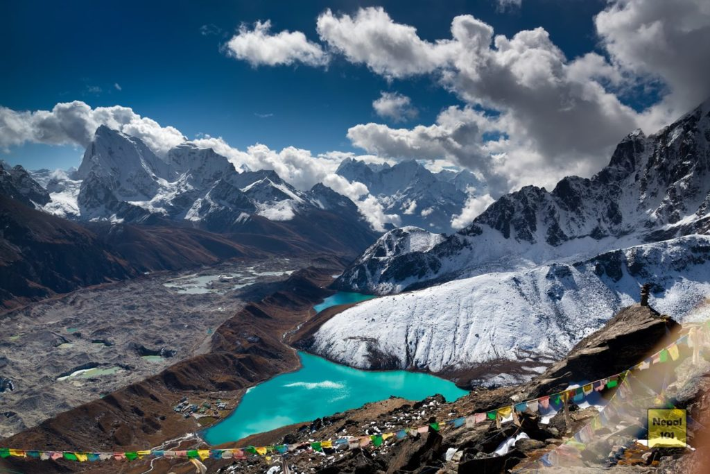 Gokyo Valley from Gokyo Ri View Point