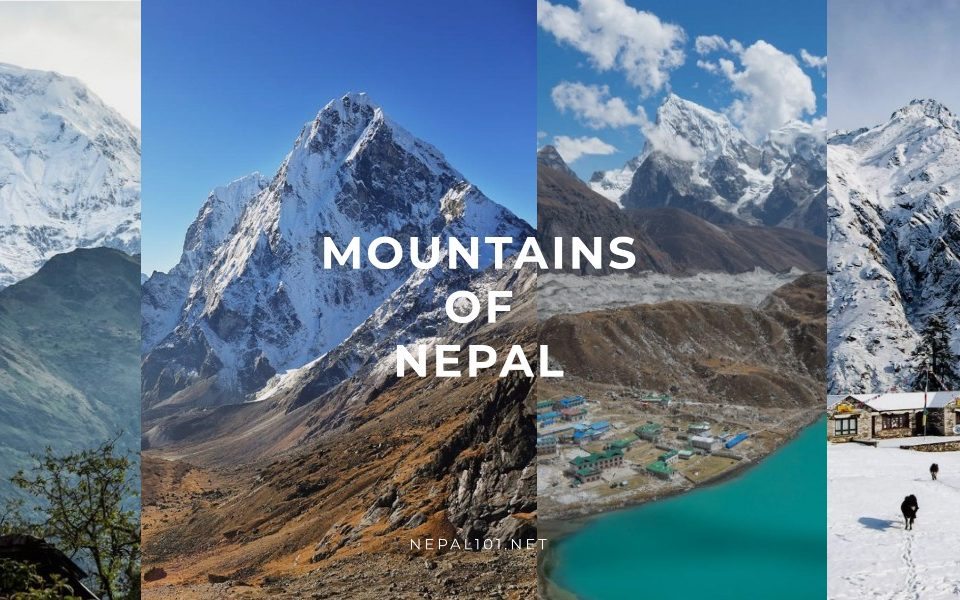 Mountains of Nepal - The 10 highest mountains in Nepal with photos